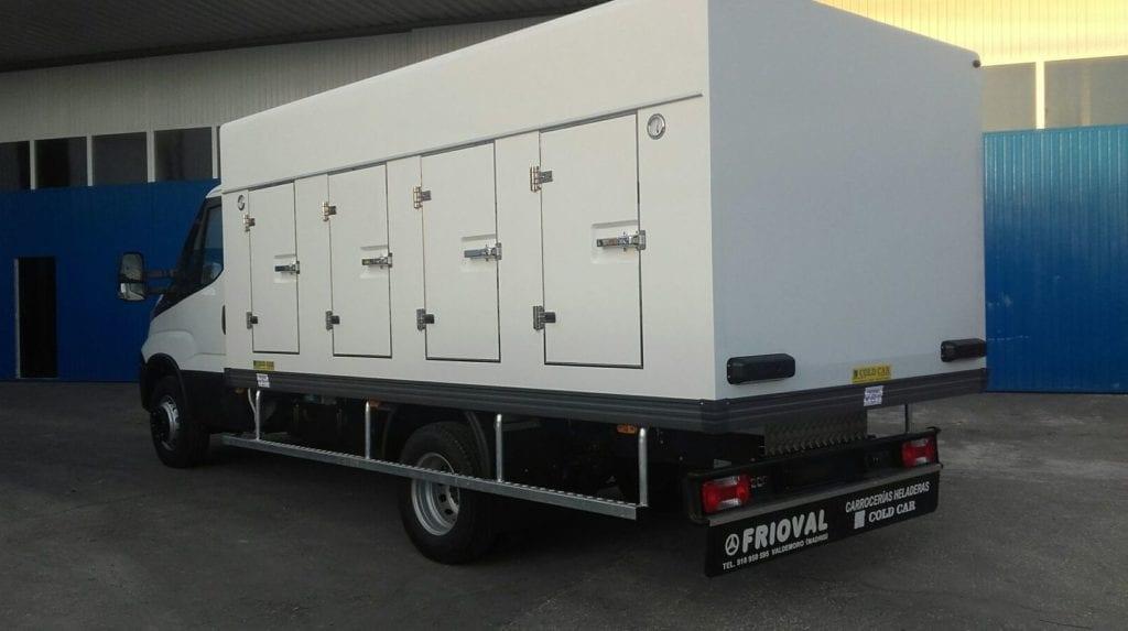 Camión de congelado, 8 portillos (4+4,) Frioval