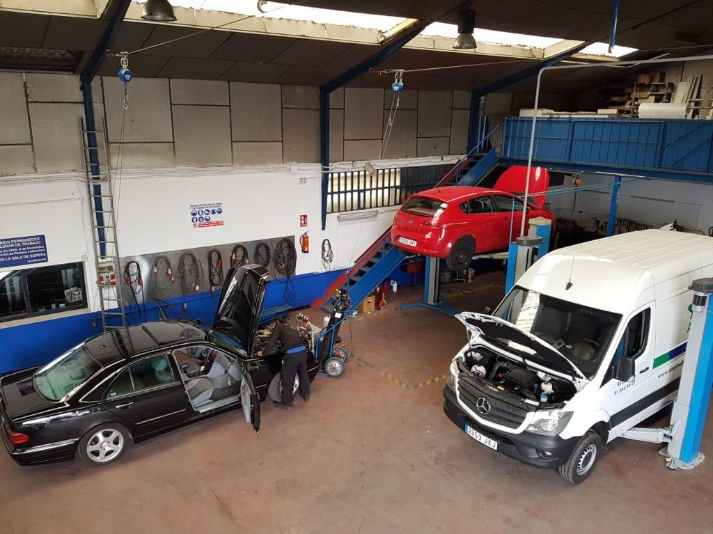 Mecánica todo tipo de vehículo, grandes instalaciones.