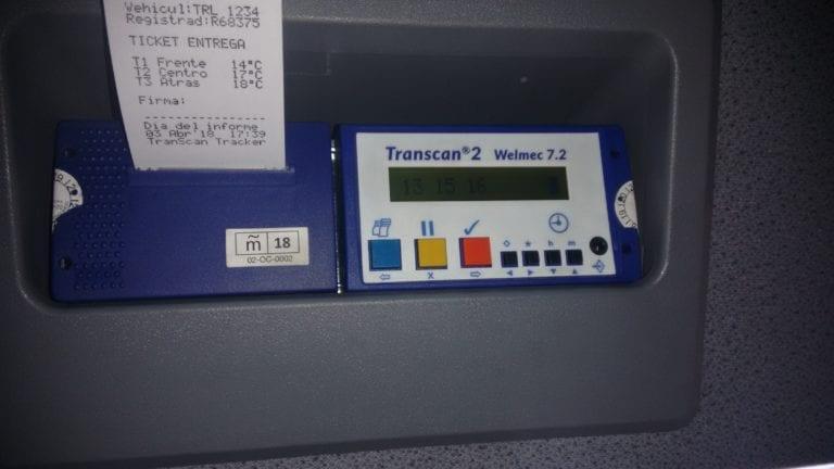termografo cabina